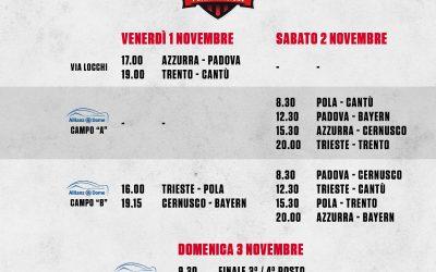 """Torneo """"Città di Trieste"""", si parte venerdì: il calendario ufficiale"""